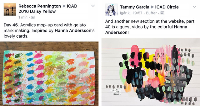 ICAD inspo here and there painted by iHanna #icad