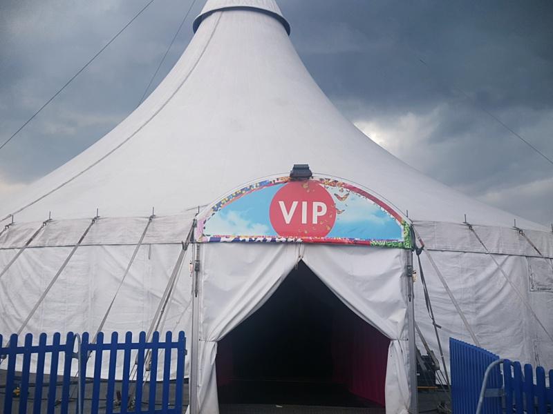Cirque du Soleil VIP tent