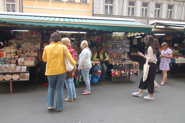 布拉格 Havelské tržiště 哈維卡市集
