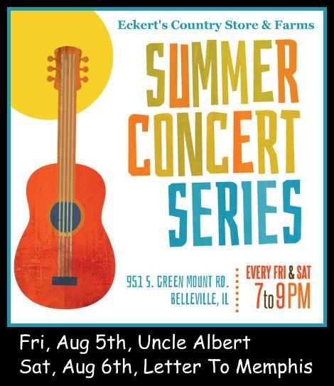 Eckert's Concerts 8-5, 8-6-16