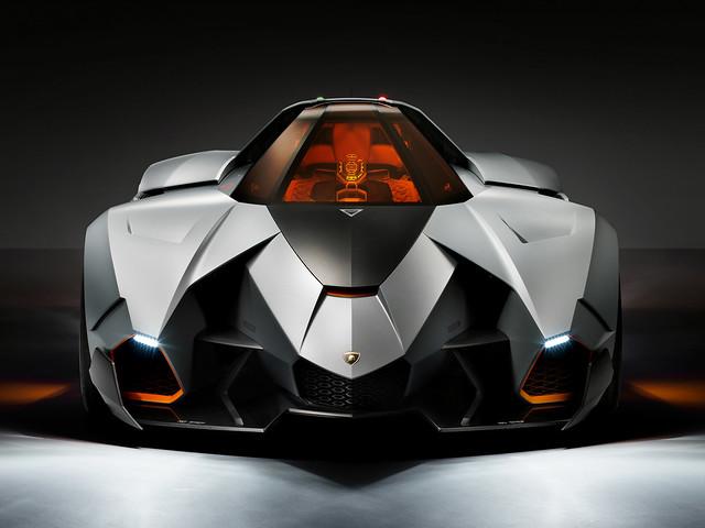 Футуристический суперкар Lamborghini Egoista. 2013 год