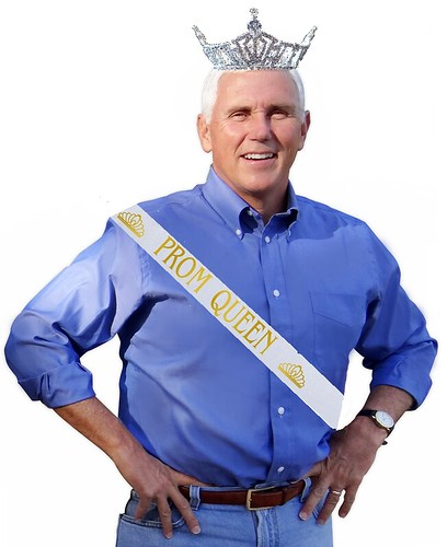 Mike Pence Wins Trump Beauty Contest