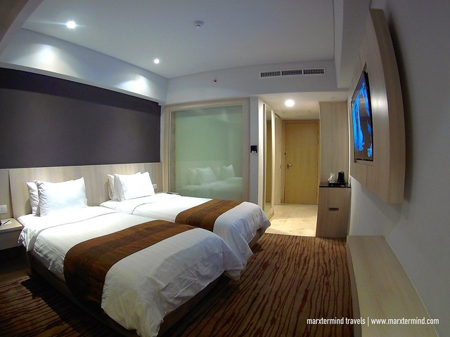 Our Deluxe Bedroom at H Sovereign Bali