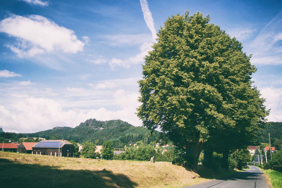 Nähe Papstdorf