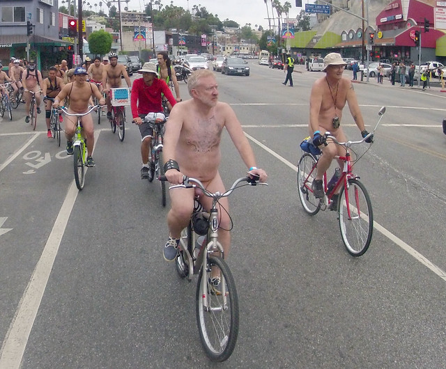LA World Naked Bike Ride (317)