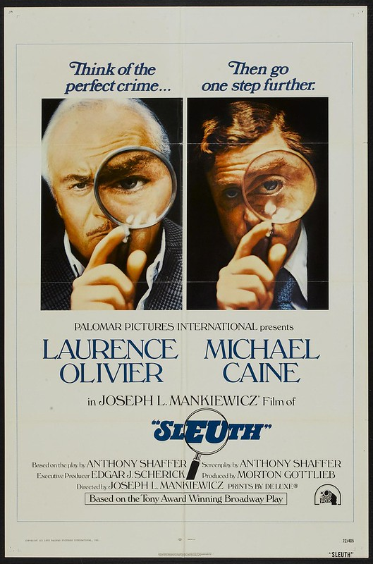 Sleuth - 1972 - Poster 1