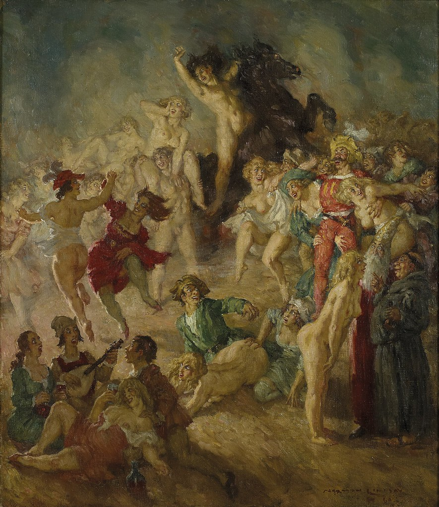 Norman Lindsay - The Sorcerer's Servants 1960