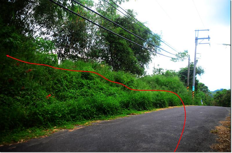 九層嶺登山路線