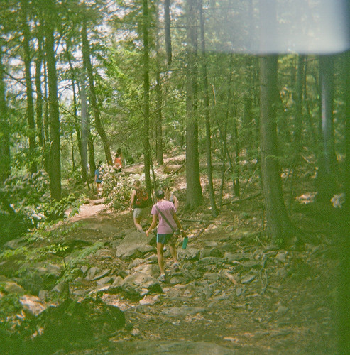 Hiking Minnewaska State Park