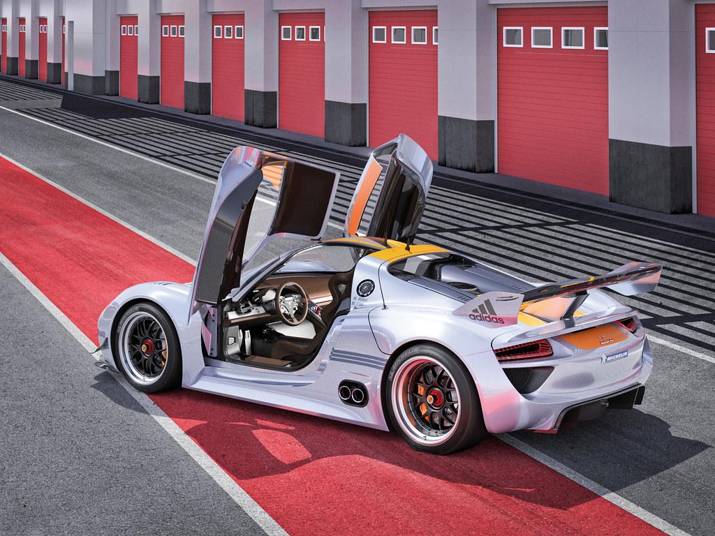 Porsche 918 RSR Concept. 2011 год