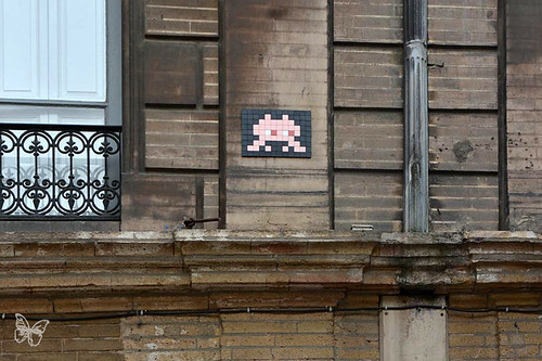 Space Invader Toulouse - TL_06
