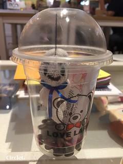 CIRCLEG 香港 火炭 笠笠咖啡 拉花 CAFE 2D 3D 海綿寶寶 遊記 (13)