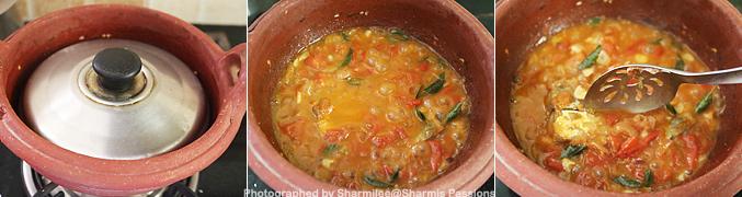 Hot to make Karuvadu Thokku Recipe - Step6