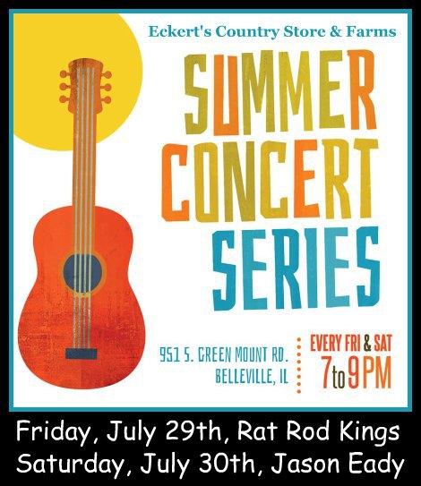 Eckert's Concerts 7-29, 7-30-16