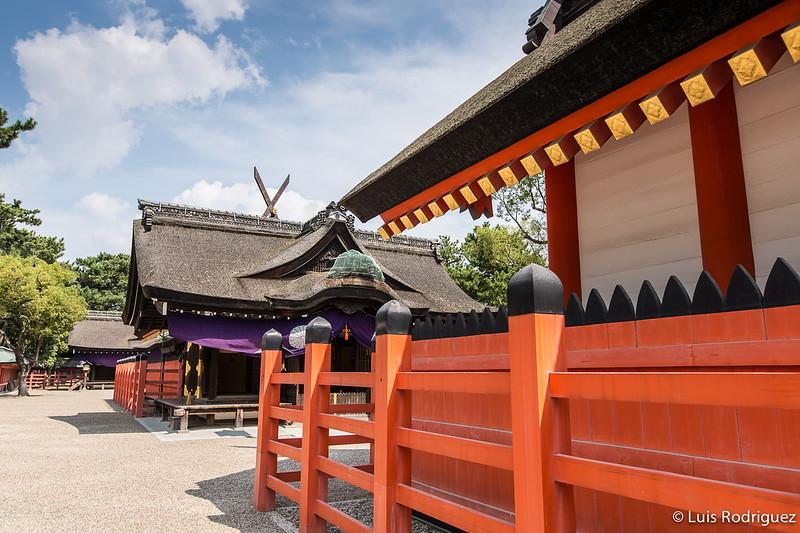 Santuario Sumiyoshi Taisha en Osaka