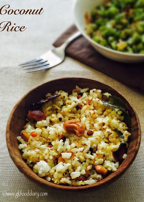 Coconut Rice Recipe for Toddlers and Kids5