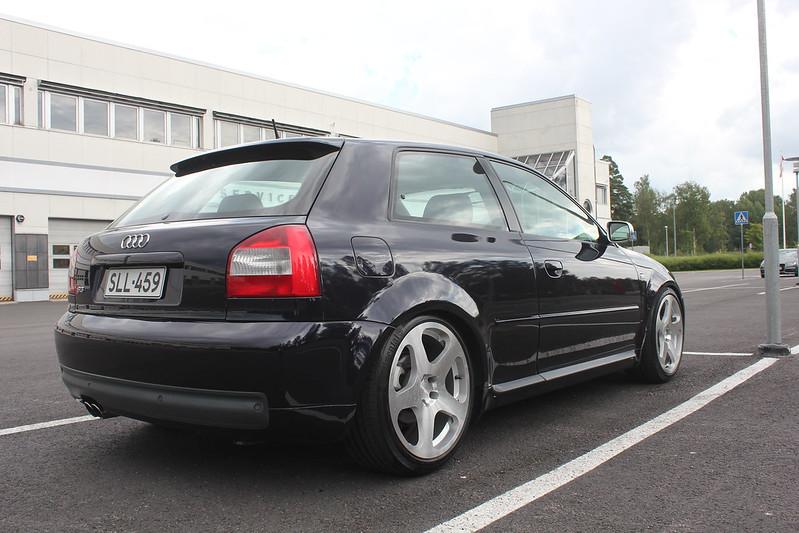 Japrnoo: Datsun 510 & EX Audi S3 28040660174_f719edcfc6_c