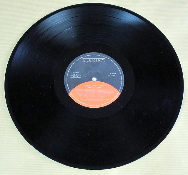"MÖTLEY CRÜE GIRLS GIRLS GIRLS Italy 12"" LP VINYL"