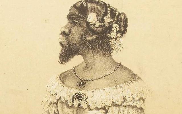 Бородатая женщина Юлия Пастрана