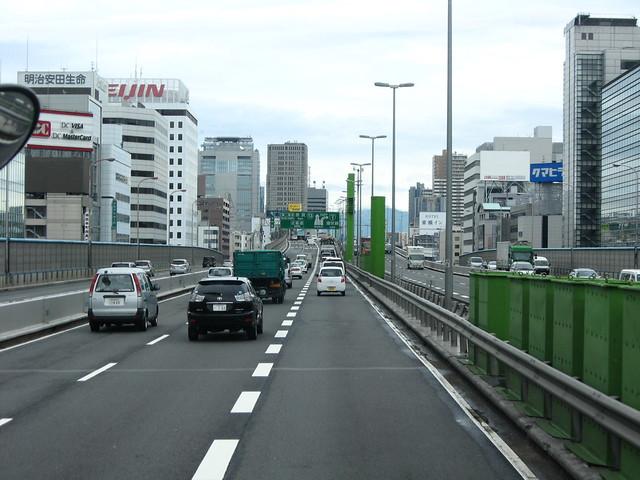 船場センタービル 阪神高速道路 (10)
