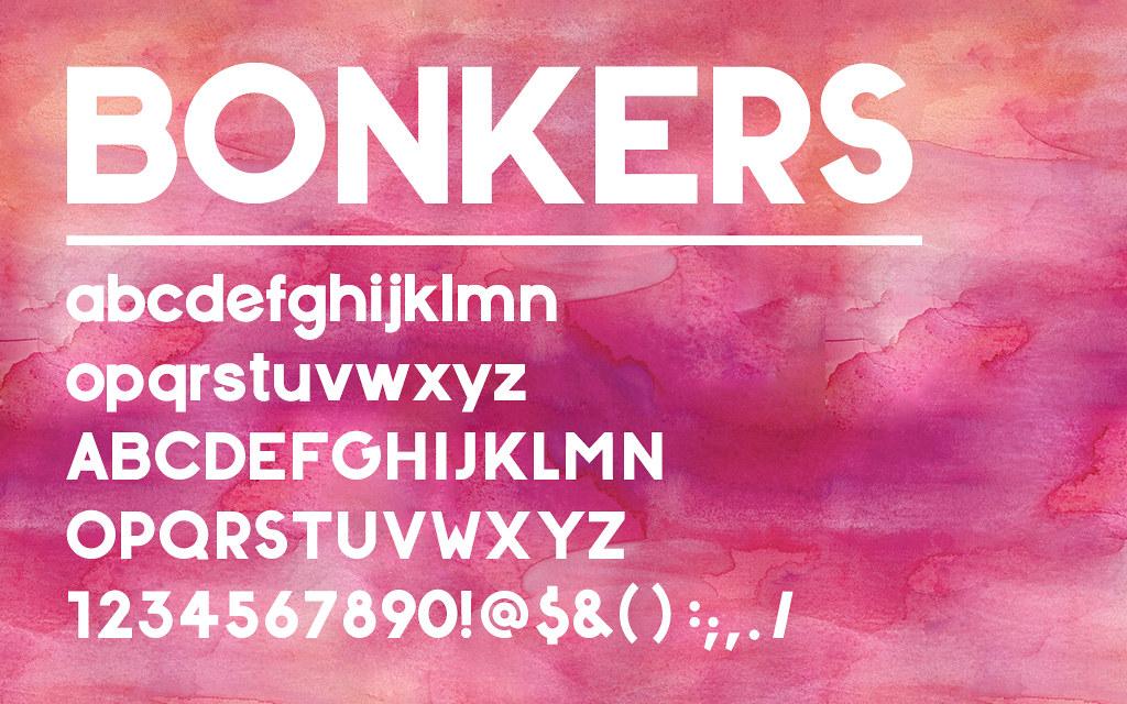 free-font-bonkers