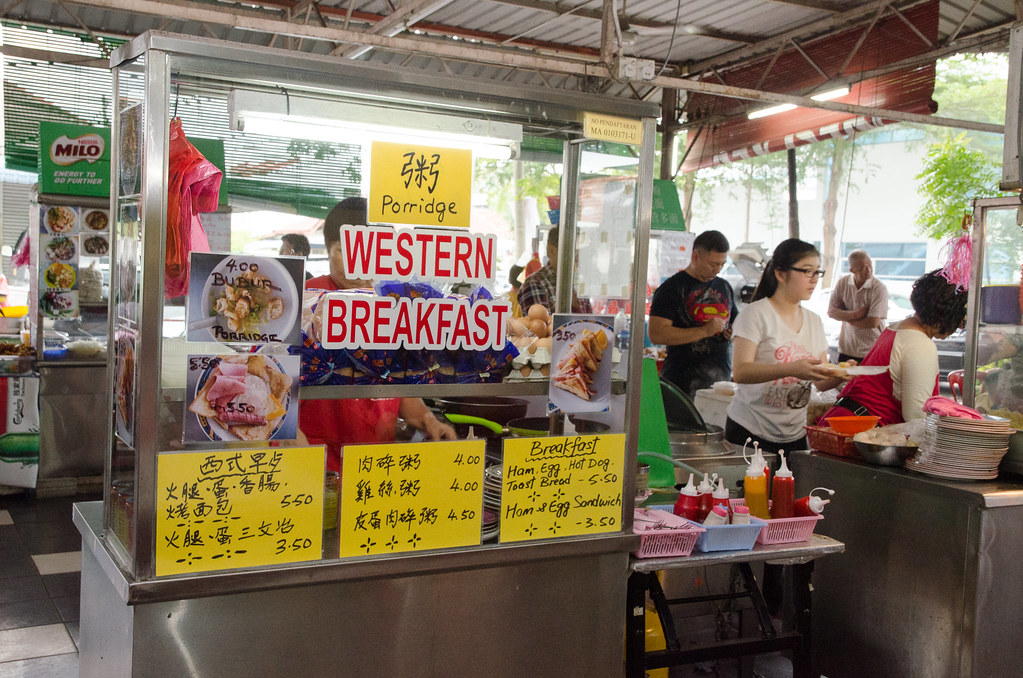 Also got sell Western Breakfast here if you got bored with local food.