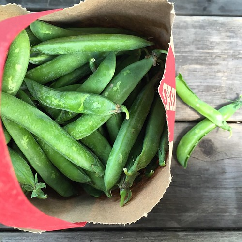Bag o' fresh peas