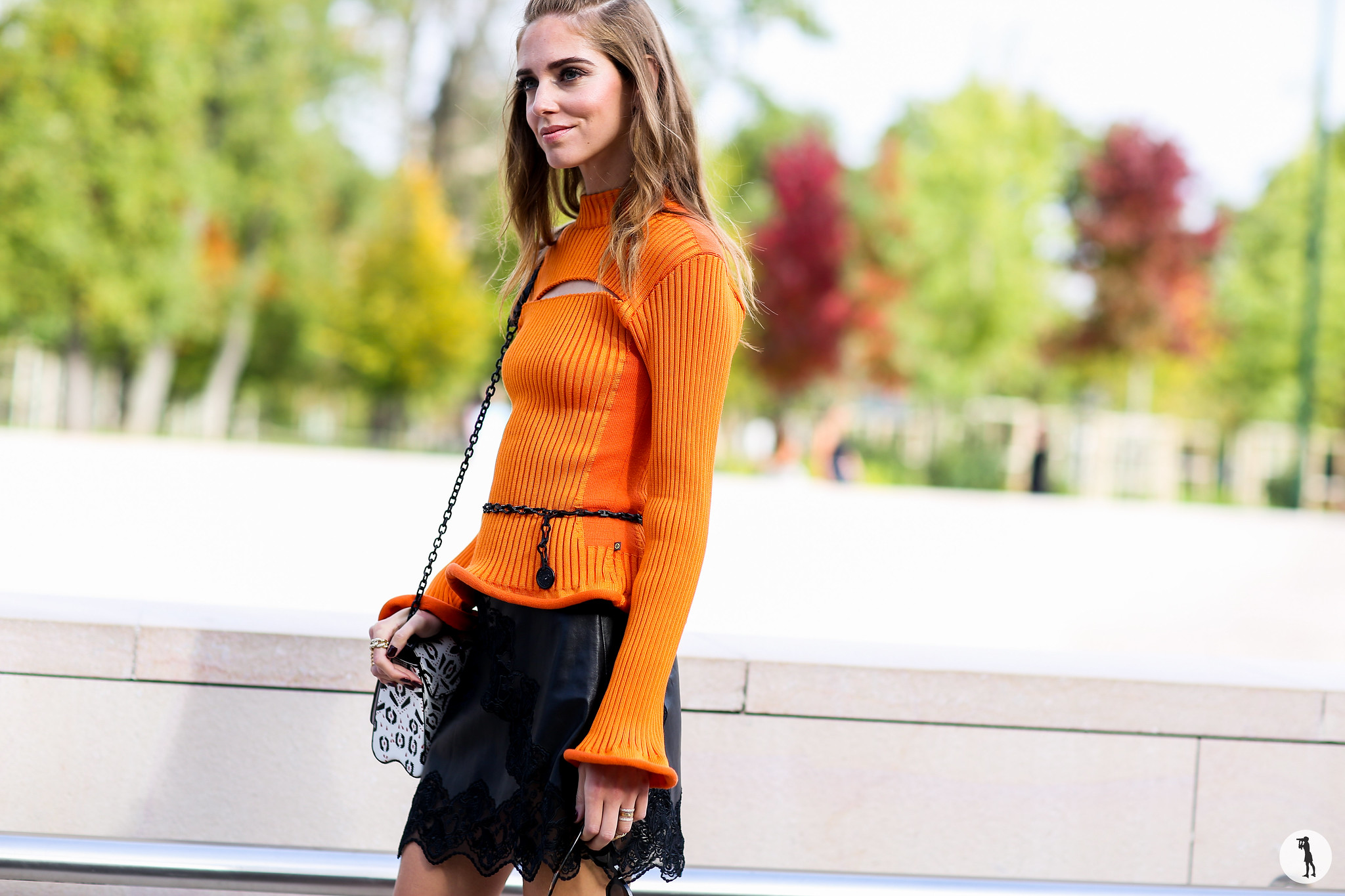 Chiara Ferragni at Paris Fashion Week-2 4