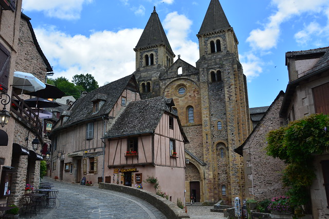 Stunning Peyrusse-le-Roc et Conques, Aveyron, France, 30 June 2016