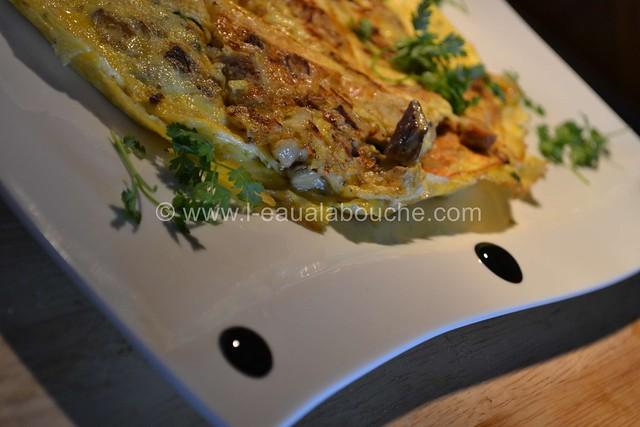 Omelette aux Cèpes & au Foie Gras © Ana Luthi Tous droits réservés 07