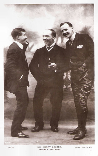 Harry Lauder, Telling A Funny Story