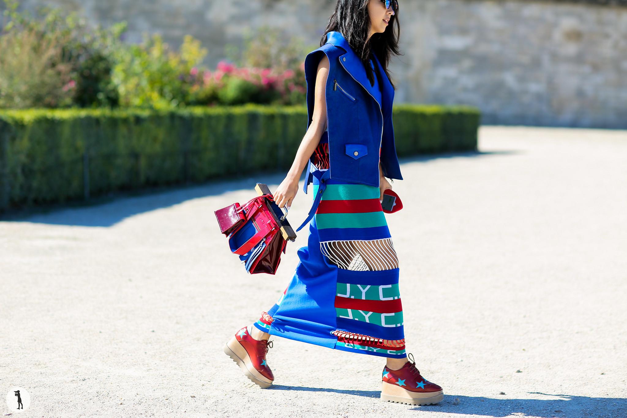 Yuwei Zhangzou at Paris Fashion Week-2