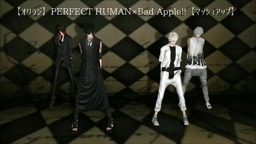 PERFECT HUMAN×Bad Apple!!