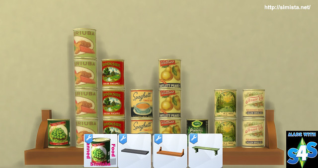Canned Food Simista A Little Sims 4 Blog