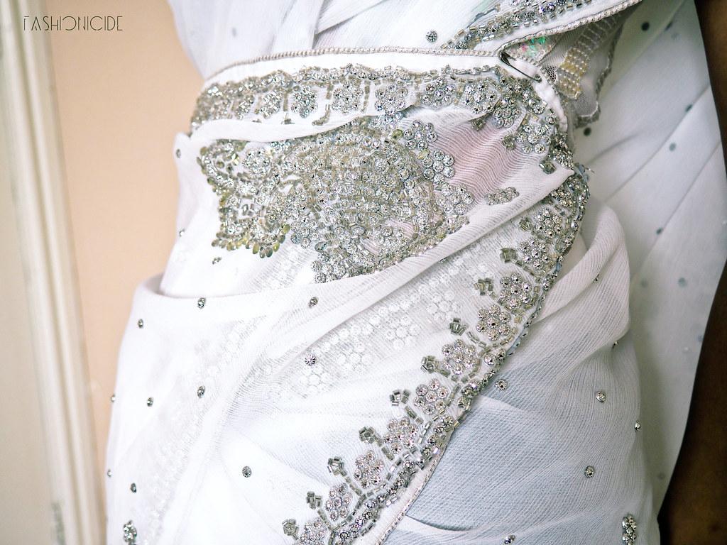 White Silver Sari Eid 8_