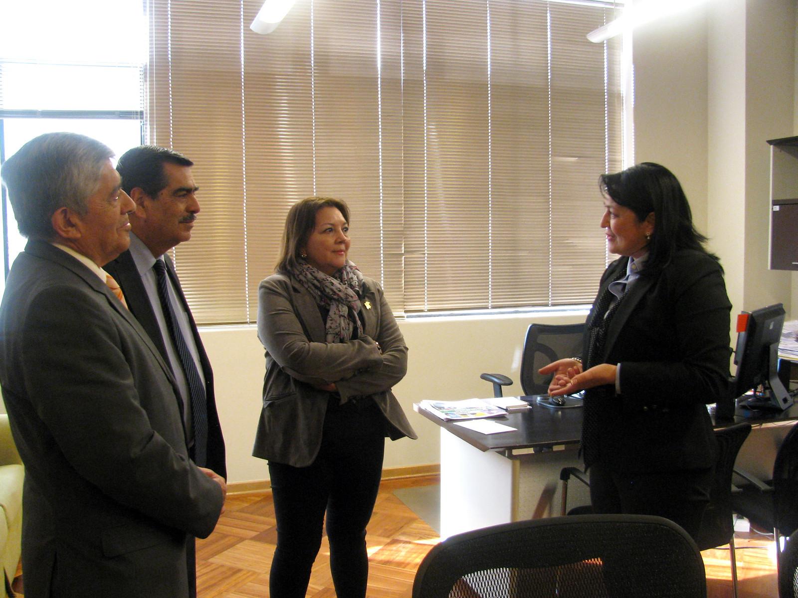 Directiva ANEC da la bienvenida a nueva Subcontralora General - 15 Septiembre 2016