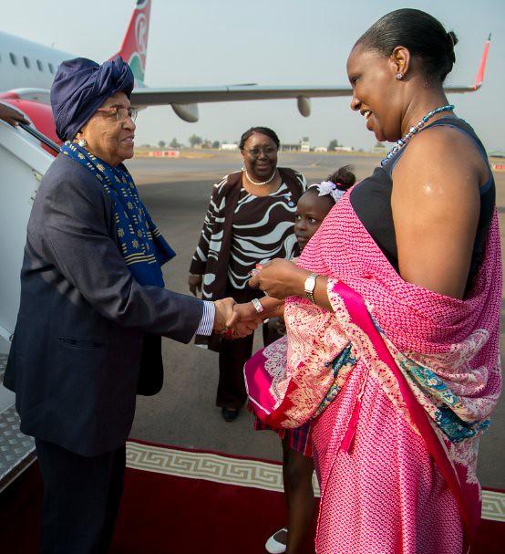 AU Sirleaf Liberia