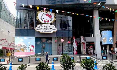 Hello Kitty House near the mall