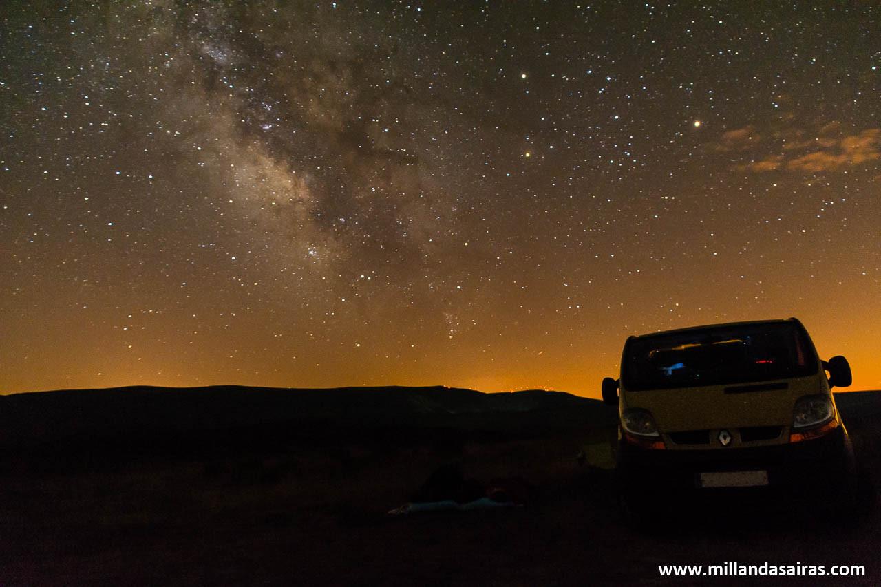 Lagoa das tablillas - Mirador estelar