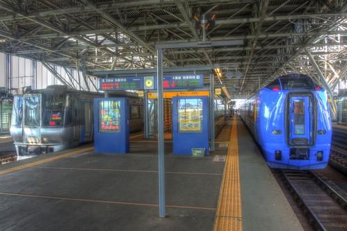 Asahikawa Station on AUG 31, 2016 (1)