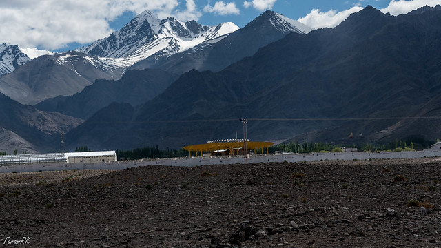 Leh VOR (LLH) with Stok Kangri in the background