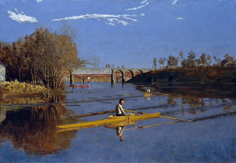 Thomas Eakins - The Champion Single Sculls (Max Schmitt in a Single Scull) (1871)