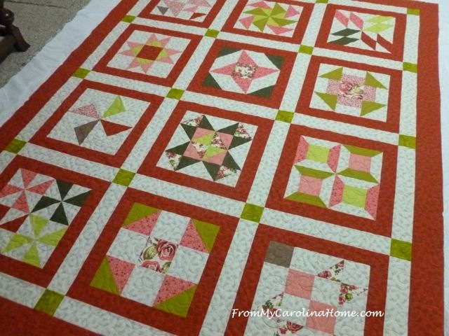 French Cottage Quilt ~ From My Carolina Home