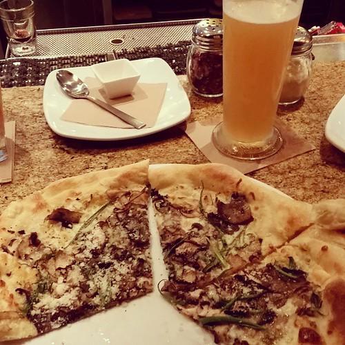 Eating Pizza Drinking Beer Ultramarathon