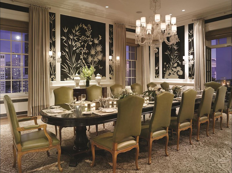 The Fairmont San Francisco Penthouse Suite Dining Room