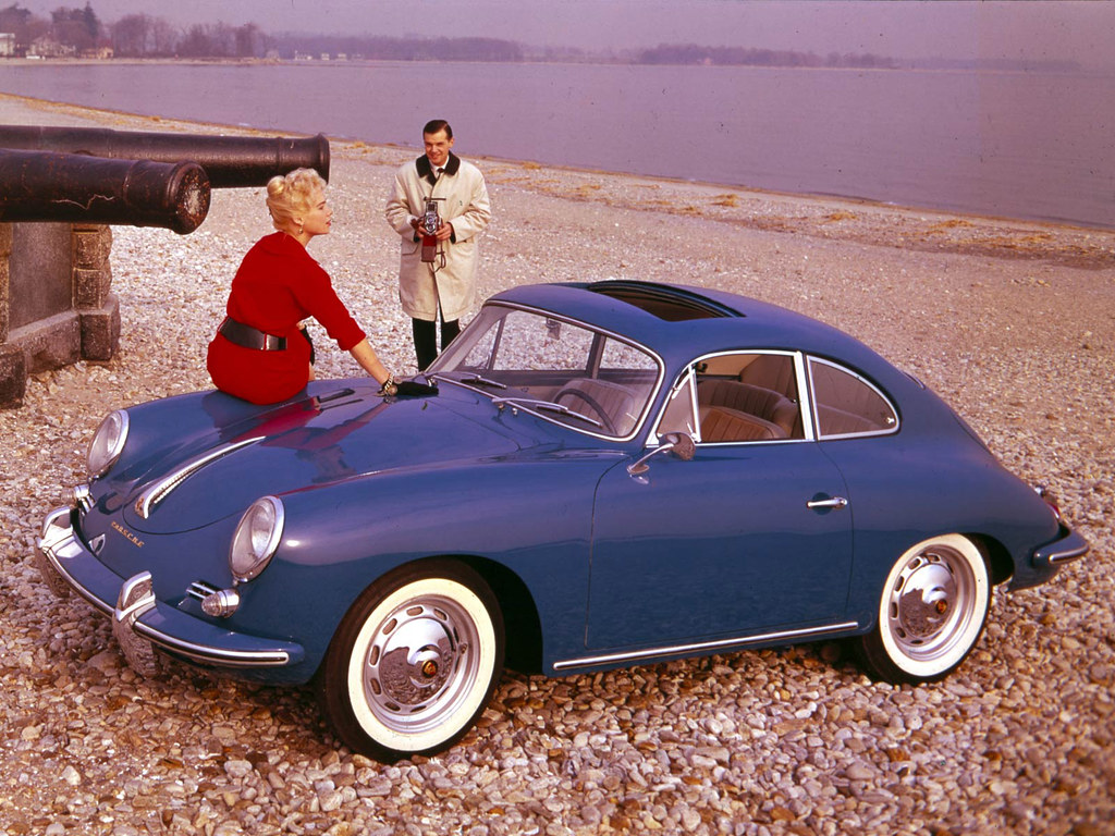 Porsche 356B 1600 Coupe (T5). 1959 – 1962 годы
