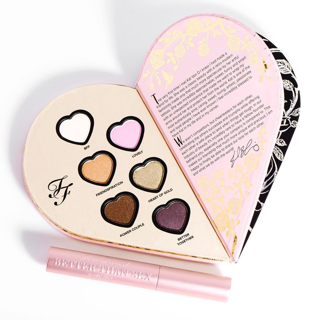 Too Faced x Kat Von D Beauty Better Together Palette