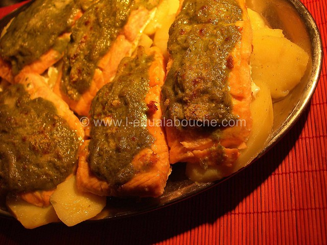 Pavé de Saumon Sauce Verte © Ana Luthi Tous droits réservés 001_GF