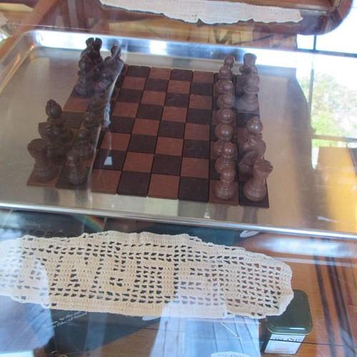 Chocolate chess #pei #victoriabythesea #victoria #chocolate #chess #latergram