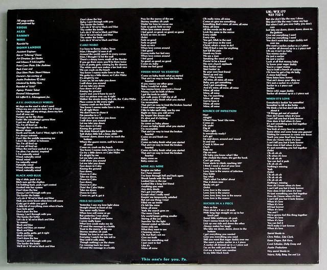"""VAN HALEN OU812 12"""" LP VINYL"""